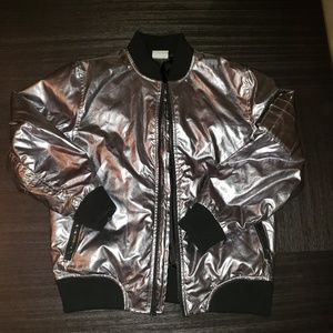 Other - Kids pop jacket silver